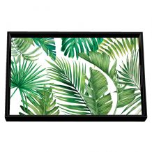 Palm Breeze Vanity Decoupage Wooden Tray